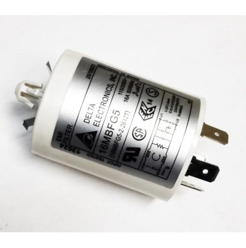 Filtro di rete cilindrico EMI FILTER  DELTA ELECTRONICS mod. 16MBFG5