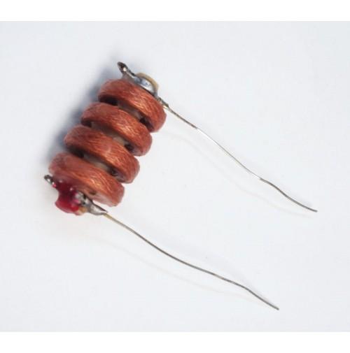 Impedenza RF a nido d'ape su ceramica tipo assiale 2000uH (2mH) mod. ARH2