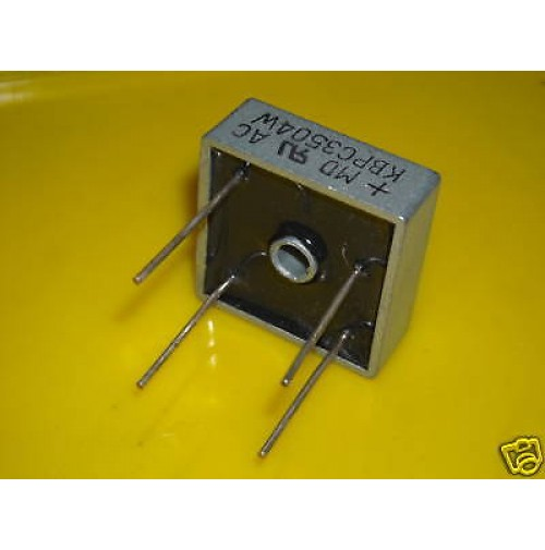 KBPC3504W Ponte raddrizzatore 35A 400V Case Metal