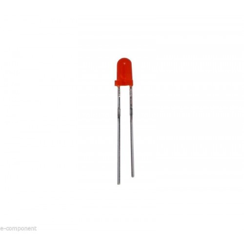 Led Rosso Standard 3mm (10 pezzi)