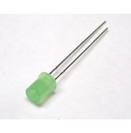 Led Verde Cilindrico Concavo 5mm (4 pezzi)