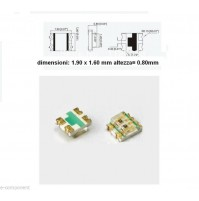 Led smd Bicolore Rosso-Verde