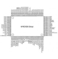M30624FGAFPU5 - 16-BIT SINGLE-CHIP M16C series - Package: 100P6S-A