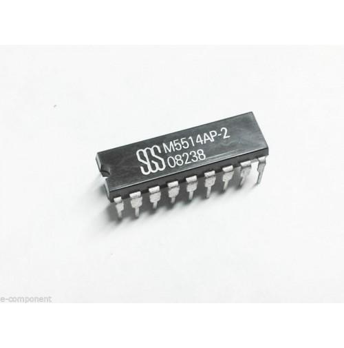 M5514AP-2  Case: DIP18  marca: SGS