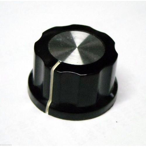MANOPOLA PER POTENZIOMETRO ASSE 6,35mm con Vite MNH-1