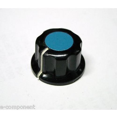 MANOPOLA PER POTENZIOMETRO ASSE 6,35mm con Vite MNH-2