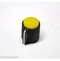MANOPOLA PER POTENZIOMETRO ASSE 6,35mm con Vite MNJ-4