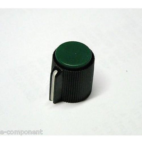 MANOPOLA PER POTENZIOMETRO ASSE 6,35mm con Vite MNJ-5