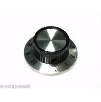 MANOPOLA PER POTENZIOMETRO ASSE 6,35mm con Vite MNR-3A