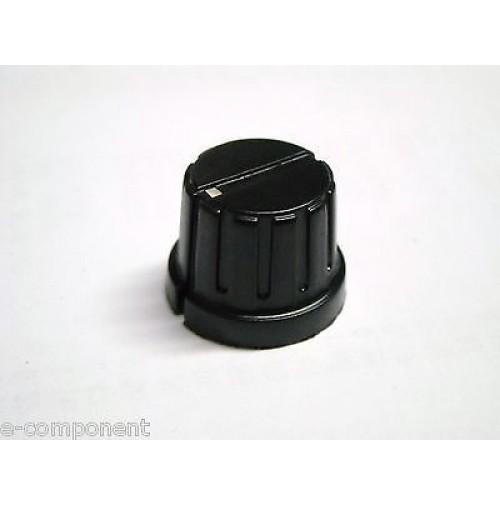 MANOPOLA PER POTENZIOMETRO ASSE 6,35mm con Vite MNW-1