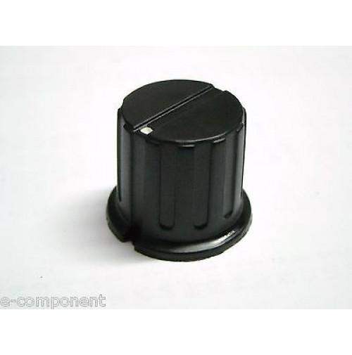 MANOPOLA PER POTENZIOMETRO ASSE 6,35mm con Vite MNW-2