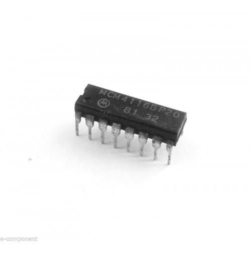 MCM4116BP20 Case: DIP16