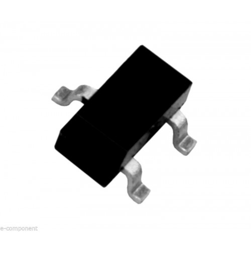 MMBT5551 Transistor Si-NPN 160V 0.6A 350mW case: SOT-23 SMD (3 Pcs)