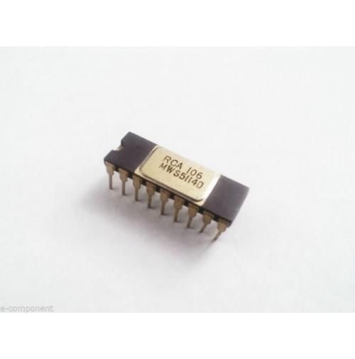 MWS5114D - Case: CERDIP18 - RCA 106