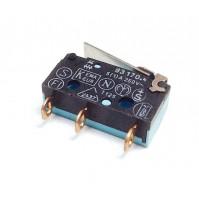 Microswitch a saldare 1(C) 2(NC) 4(NA) 5A. 250Vac, Crouzet 83170.4