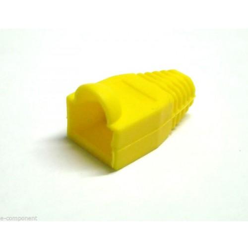Protezione per spina RJ45 colore GIALLO