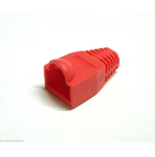 Protezione per spina RJ45 colore ROSSO