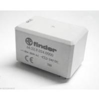 RELE' FINDER 66.22.9.024.0000 Bobina 24Vdc - 2 scambi 30A da circuito stampato