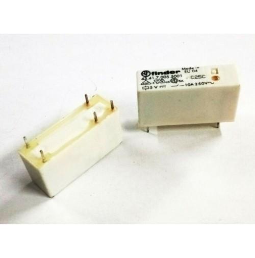 RELE FINDER RELE 43.41.7.005.5001 BOBINA 5VDC 10A / 250VAC