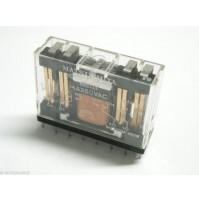 RELE' MATSUSHITA NC4D-P-DC48V AW8443 Bobina 48Vdc da circuito stampato