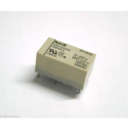 RELE' NAIS DSP1-DC24V Bobina 24V 5A da circuito stampato