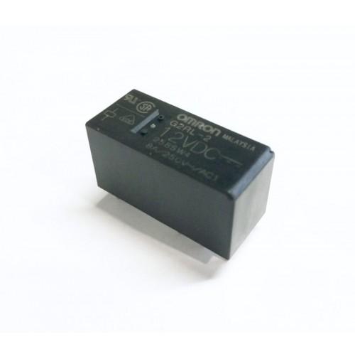RELE' OMRON G2RL-2 Bobina 12Vdc 8A - 2 scambi da circuito stampato