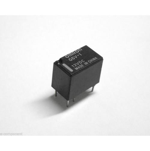 RELE' OMRON G5V-1 Bobina 12Vdc 1A - 1 scambio da circuito stampato