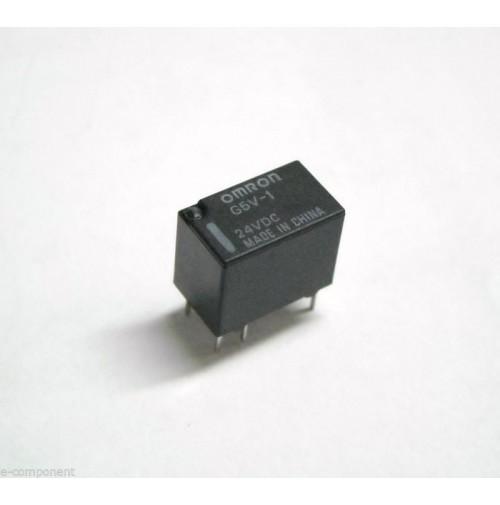 RELE' OMRON G5V-1 Bobina 24Vdc 1A - 1 scambio da circuito stampato