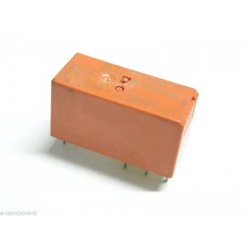 RELE' RT424730 Bobina 230Vac DPDT 8A da circuito stampato