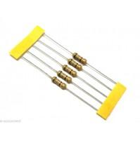 RESISTENZE 680 ohm (680R) 1 Watt 5% - 5 Pezzi