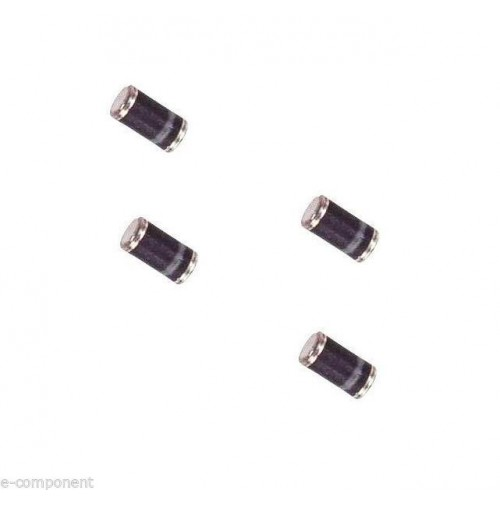 SM4007 - Diode 1000V 1A - SMD Case: MELF - 4 Pezzi/Pcs