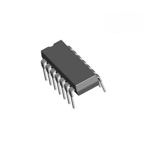 SN74HC14N - Six Inverting Schmitt Trigger - Case: DIP14 (2 pezzi)