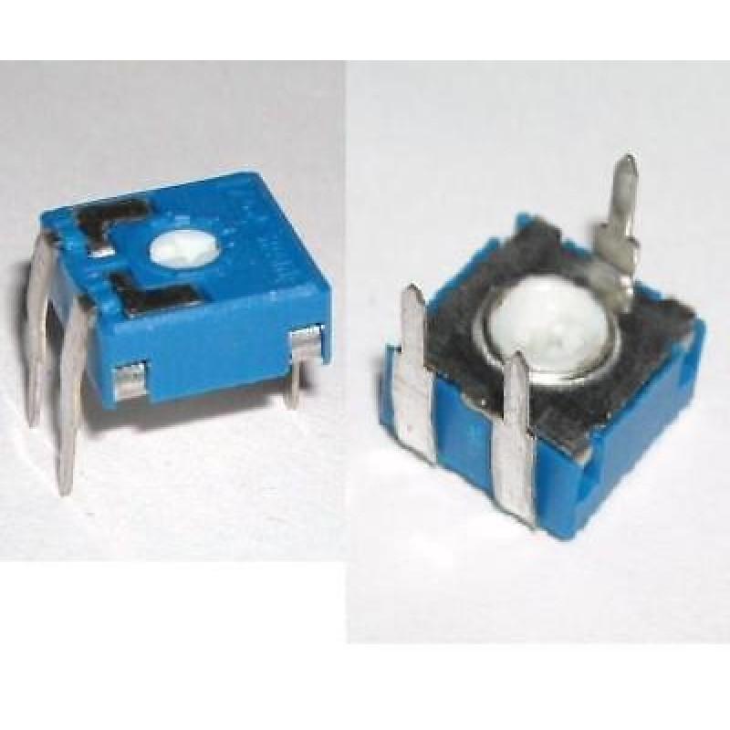 Potentiomètres 1 Pezzo TRIMMER ORIZZONTALE PT10 VALORE 220 ohm