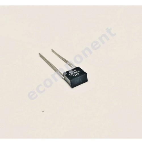 Condensatore Poliestere 1nF (0,001uF) 50V j (5%) 2,5x6x6mm Passo 5mm 5 PEZZI